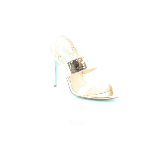 Betsey Johnson Jenna Women's Heels Gold Foil - 9