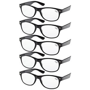 eyekepper 5pack spring hinges 80u0027s reading glasses 05