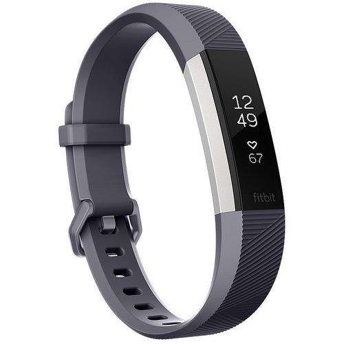 Fitbit Alta HR Heart Rate + Fitness Wristband (Gray, Large)