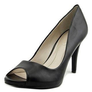 Style & Co Brandii Women  Peep-Toe Synthetic Black Heels