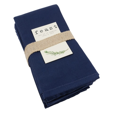 Feast Cotton Dinner Napkins, Set of 12