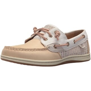 Sperry Womens Songfish Leather Closed Toe Boat Shoes