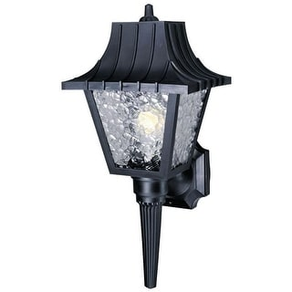 "Westinghouse 66860 Outdoor Poly Wall Lantern Fixture, 8"" x 17.5"""
