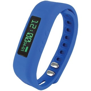 Supersonic Bluetooth Smart Wristband Fitness Tracker (blue)