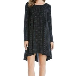Karen Kane NEW Black Women's Small S Embellished High Low Sheath Dress