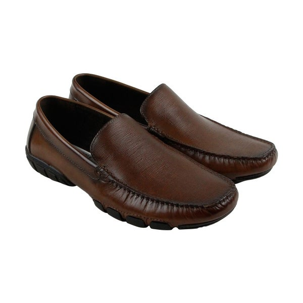 Kenneth Cole New York Design 10552 Mens Brown Casual Dress Oxfords Shoes