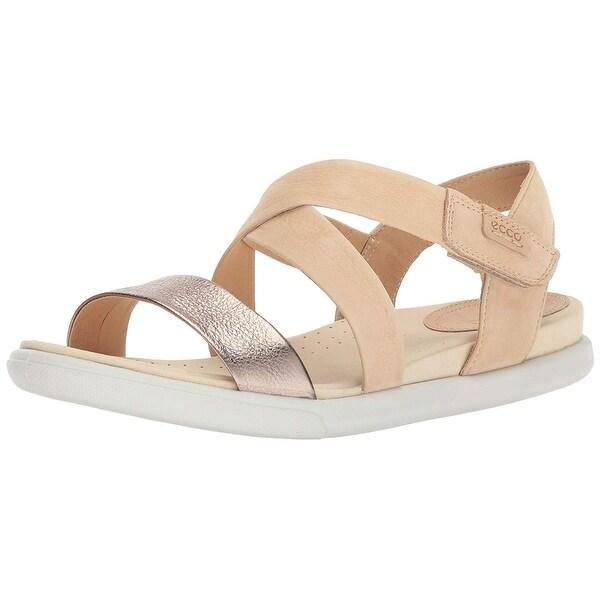 41318e11eb6e Shop ECCO Womens Damara Closed Toe Casual Ankle Strap Sandals - 6.5 ...