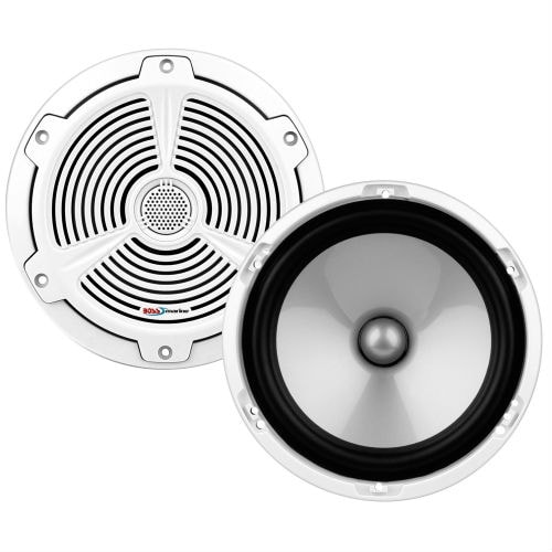 """""""Boss Audio MR652C Boss Audio MR652C Marine 6.5"""" 2-way 350-watt Full Range Speakers - 60 Hz to 20 kHz - 4 Ohm - 92 dB"""