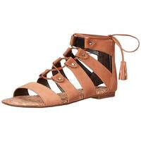 Circus by Sam Edelman Womens Gibson Leather Open Toe Casual Strappy Sandals