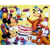 ''Mickey & Friends: Birthday Party'' by Walt Disney Walt Disney Art Print (16 x 20 in.)