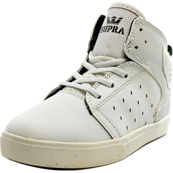 14835d8785f29 Shop Supra Atom Boy White/White-White Athletic Shoes - Free Shipping ...