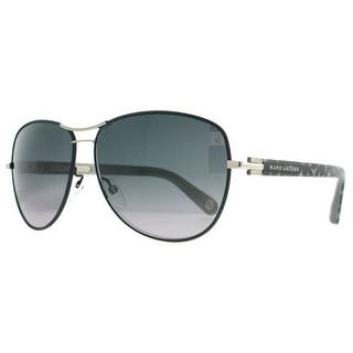 MARC JACOBS Aviator MJ 522 Women's 1FZ HD Matte Black/Leopard Gray Gradient Sunglasses - 61mm-12mm-135mm