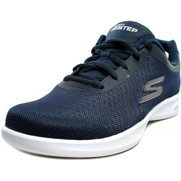 Skechers Go Step Lite-Endure Women Round Toe Synthetic Blue Running Shoe