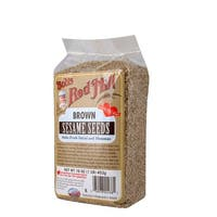 Bob's Red Mill Brown Sesame Seeds - 16 oz - Case of 4