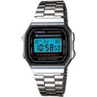 Casio A168w-1 Men's Classic Digital Electro Luminescence Bracelet Wrist Watch