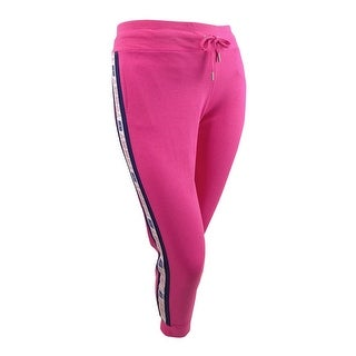 Link to Tommy Hilfiger Women's Sport Logo Jogger Pants (XL, Fuchsia Pink) - Fuchsia Pink - XL Similar Items in Athletic Clothing