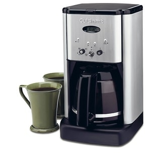 Cuisinart DCC-1200FR Brew Central Programmable 12-Cup Coffeemaker, Stainless Steel, Certified Refurbished