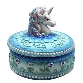 "3 1/2"" Blue Unicorn box"
