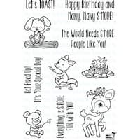 "Your Next Stamp Clear Stamps 4""X6""-S'more Fun"