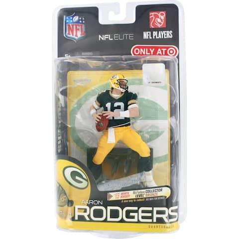 NFL Elite Players Aaron Rodgers Action Figure - Green Jersey