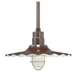 """Millennium Lighting RRWS18 R Series 1 Light 18"""" Wide Outdoor Shade"""