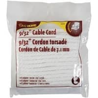 "White - Dritz Cable Cord 9/32""X10yd"