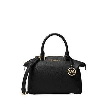 fe5921fd1183 Shop Michael Kors Black Riley Small Satchel Bag Leather - Free Shipping  Today - Overstock - 20022430