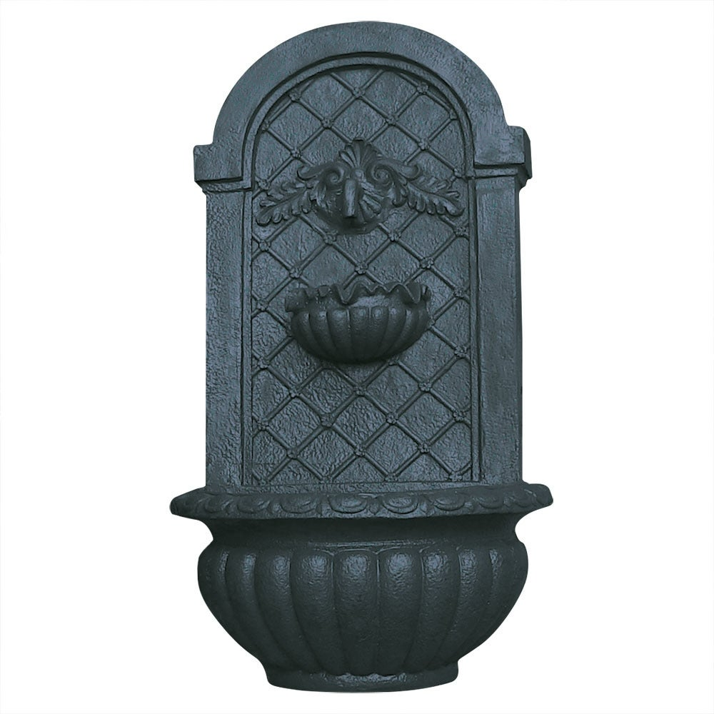 Sunnydaze Venetian Outdoor Wall Fountain-Multiple Colors Available - Thumbnail 1