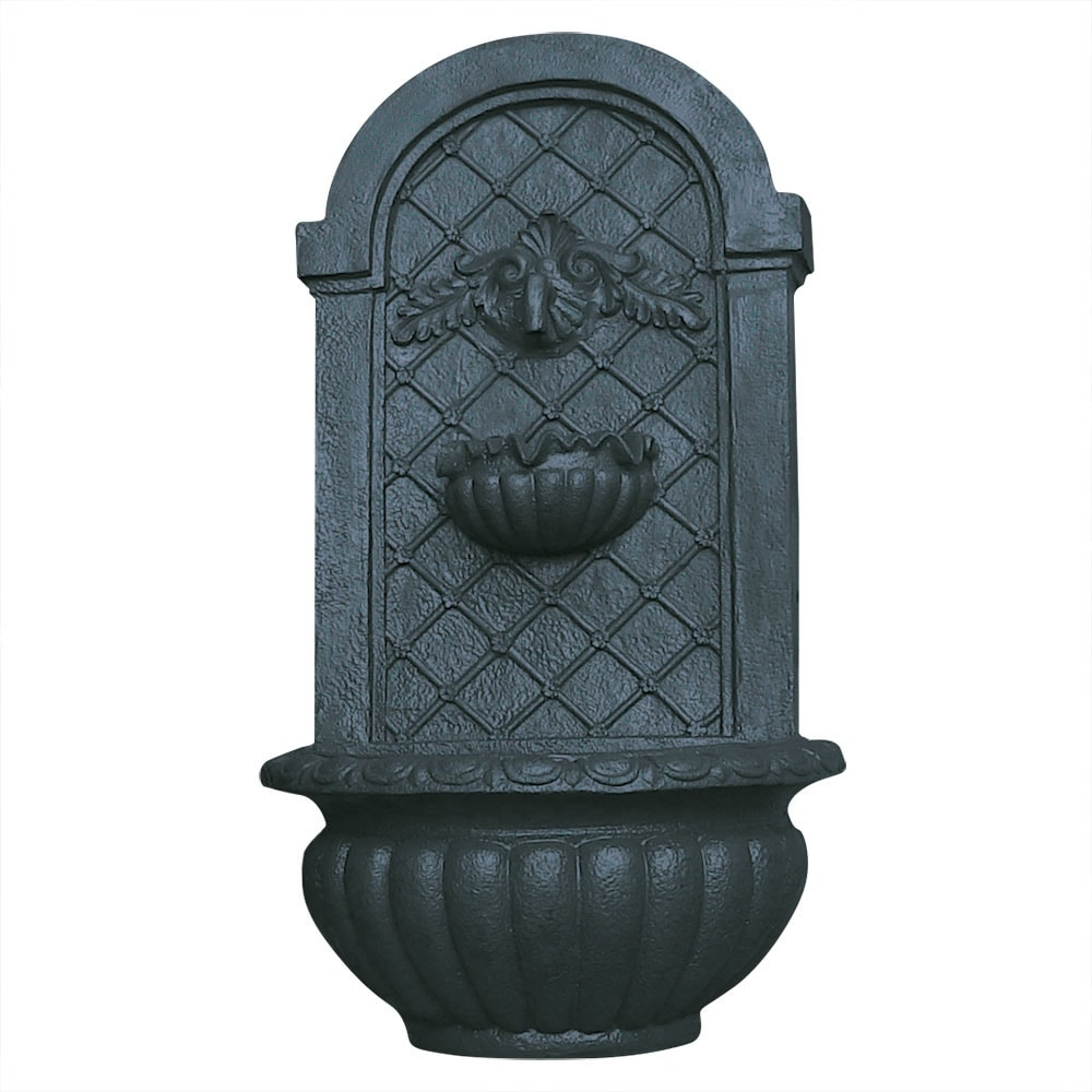 Sunnydaze Venetian Solar Outdoor Wall Fountain - Multiple Colors Available - Thumbnail 18