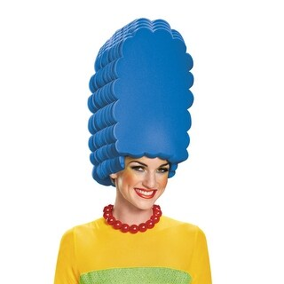 Disguise Marge Foam Wig - Blue