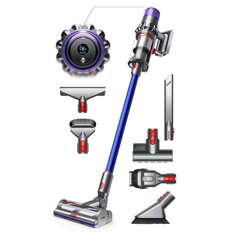 Dyson V11 Torque Drive Cord-Free Vacuum Cleaner - Comes w/ Torque Drive Cleaner Head + Color LCD Screen + Extra Mattress Tool