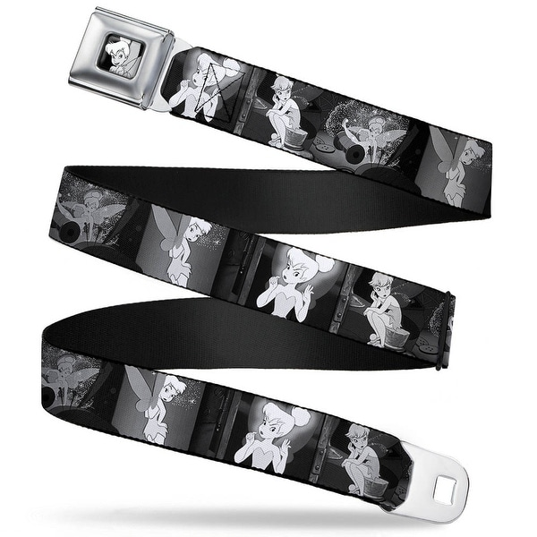 Tinker Bell Close Up Full Color Black White Tinker Bell Scenes Black White Seatbelt Belt