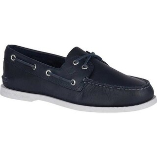 Sperry Top-Sider Men's Authentic Original Boat Shoe Navy Leather/Pullup