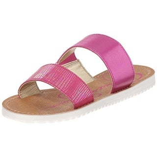 Jessica Simpson Girls Aoki Embossed Slide Sandals - 3