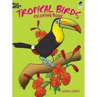 Dover - Coloring Book - Tropical Birds