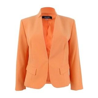Nine West Women's Star-Collar Blazer