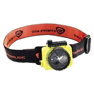 120VAC Double Clutch USB Rechargeable Headlamp, Yellow