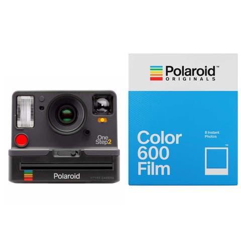 Polaroid Originals OneStep2 V2 i-Type Camera (Graphite) w/ Color Film