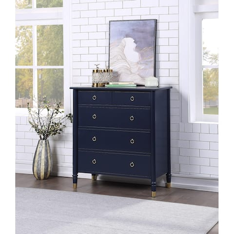 Jewel Five Drawer Chest by Greyson Living