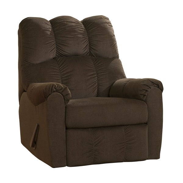 Ashley Furniture Recliners: Shop Offex Signature Design By Ashley Raulo Rocker Recliner In Chocolate Fabric