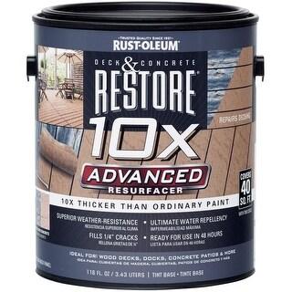 Restore 287328 10X Advanced Deck & Concrete Resurfacer, Gallon