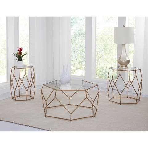 The Curated Nomad Roxbury Mixed Media Occasional Set