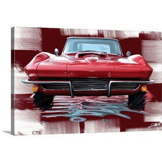 """""""Red Front"""" Canvas Wall Art"""