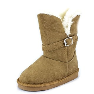 Northside Alycia Toddler Round Toe Synthetic Tan Winter Boot