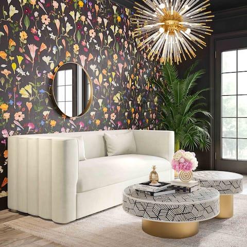 Callie Velvet Sofa
