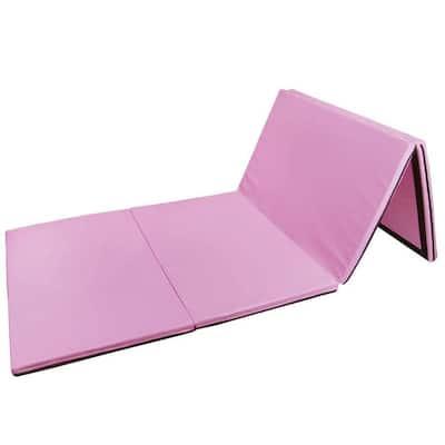 8ftx4ftx2in Waterproof Gymnastics Mat,Four Folding Yoga Mat