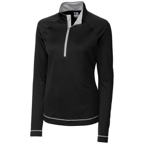 Cutter & Buck Cb Drytec Long Sleeve Evolve Half Zip