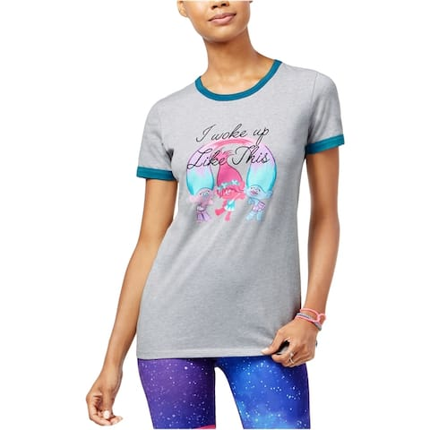 Dreamworks Womens Trolls I Woke Up Graphic T-Shirt