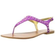 LAUREN by Ralph Lauren Womens ALYSSIA Suede Open Toe Casual Ankle Strap Sandals