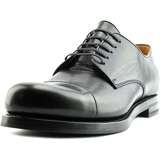 Gucci Bella Lux Men Square Toe Leather Black Oxford